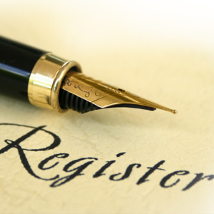 Registration of a Death